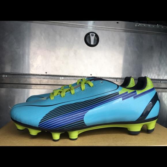 Puma Evospeed 4 FG Premium Womens Size 8 Soccer 0bb0b151e81c